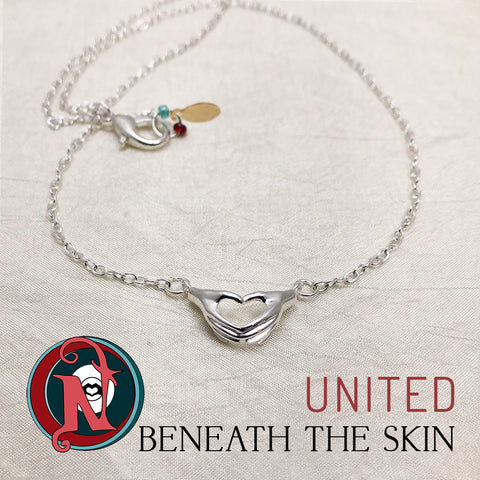 United NTIO Necklace/Choker by Beneath The Skin