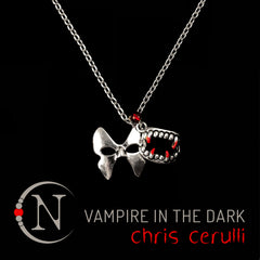 Vampire in the Dark Halloween Necklace by Chris Cerulli ~ Limited 40