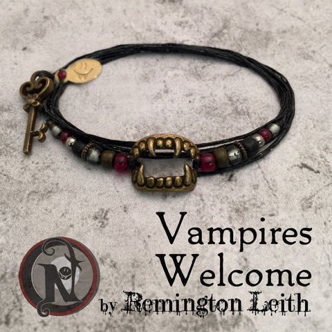 Vampires Welcome NTIO Bracelet by Remington Leith