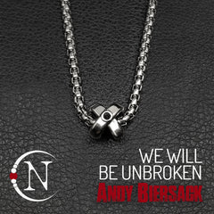 We Will Be Unbroken Necklace by Andy Biersack