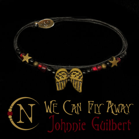 We Can Fly Away NTIO Bracelet by Johnnie Guilbert ~ Holiday Angels 2019