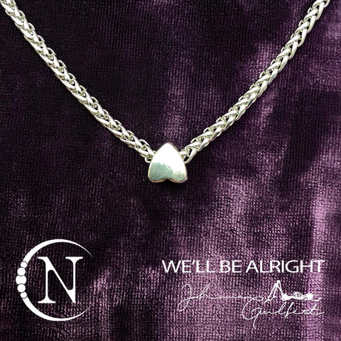 We'll Be Alright NTIO Necklace by Johnnie Guilbert