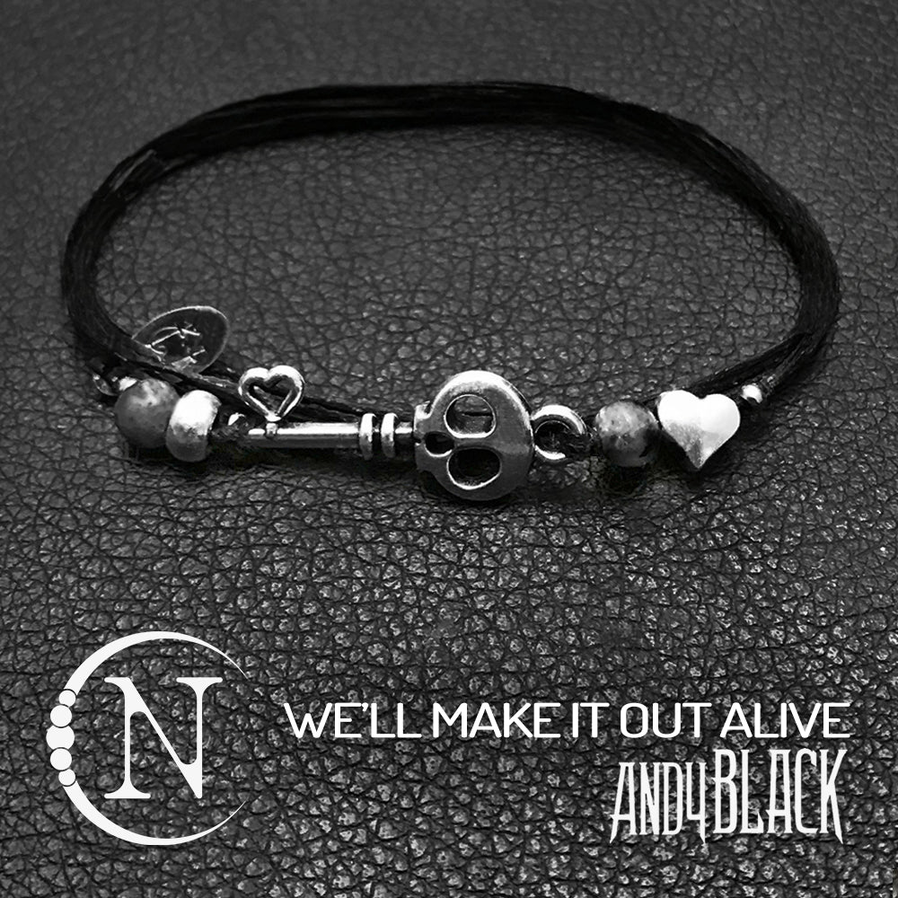 We'll Make It Out Alive NTIO Bracelet by Andy Black