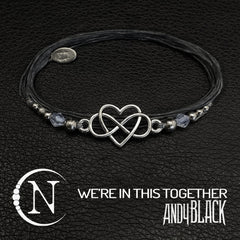 We're In This Together NTIO Bracelet by Andy Black ~ Valentine's Edition