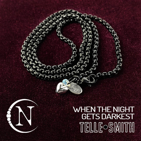When The Night Gets Darkest NTIO Necklace by Telle Smith