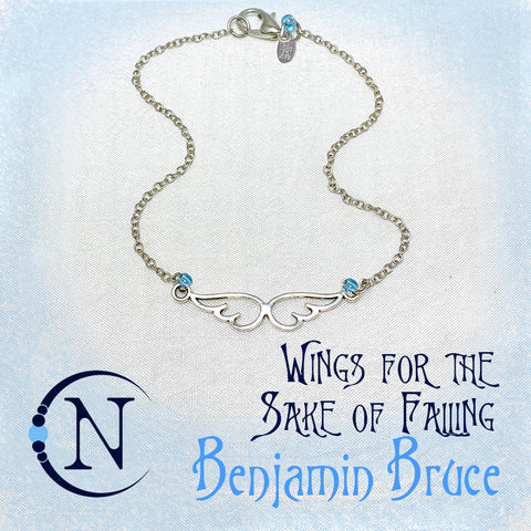 Wings For The Sake of Falling NTIO Bracelet by Ben Bruce ~ Holiday Angels 2019