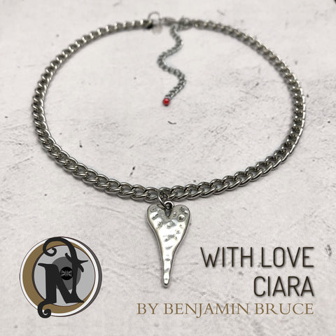 With Love Ciara NTIO Choker by Ben Bruce ~ Limited 15 More