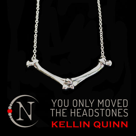Poltergeist NTIO Necklace by Kellin Quinn You Only Moved the Headstones ~ Extremely Limited 8 More