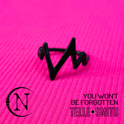 You Won't Be Forgotten NTIO Ring by Telle Smith ~ Limited Edition 50