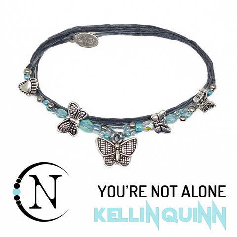 You're Not Alone NTIO Bracelet By Kellin Quinn ~ Only 5 More