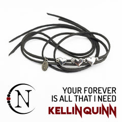 Your Forever Is All That I Need NTIO Bracelet/Choker by Kellin Quinn ~ Valentine's Edition
