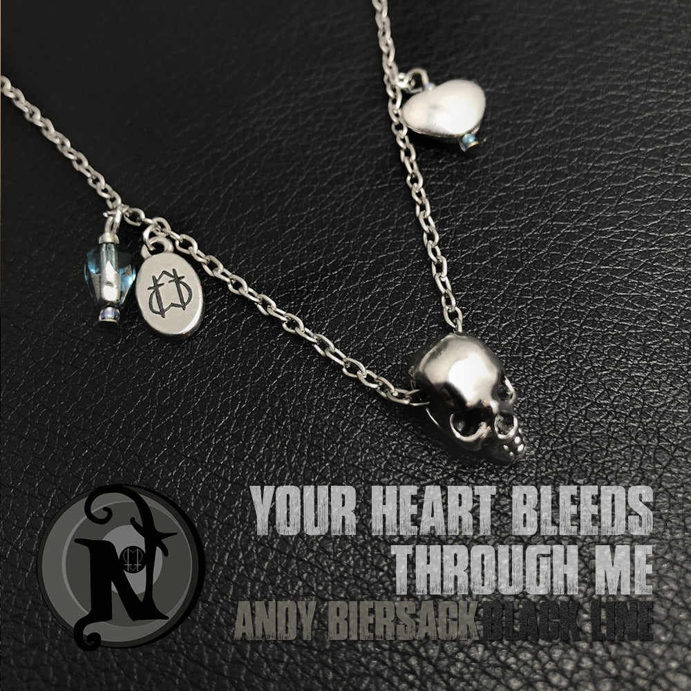 Your Heart Bleeds Through Me NTIO Necklace by Andy Biersack ~ Limited 50