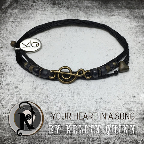 Your Heart In A Song NTIO Bracelet by Kellin Quinn