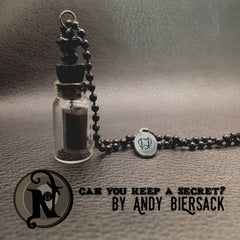 Can You Keep a Secret Vial Necklace by Andy Biersack