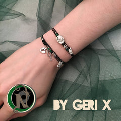 You Poisoned Me With Envy NTIO Bracelet by Geri X
