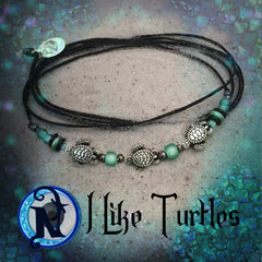 I Like Turtles NTIO Bracelet Dark Seas