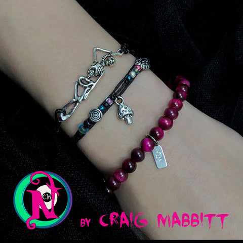 Silver Hanging from the Noose Craig Mabbitt NTIO Bracelet Bundle