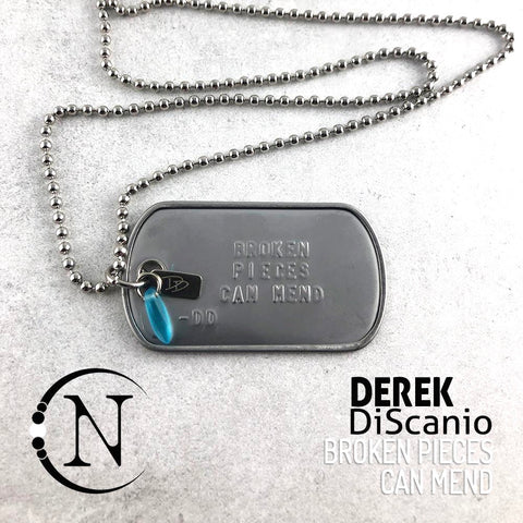 Derek DiScanio Lyric Tag Necklace