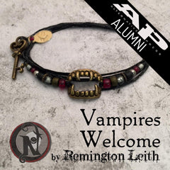 Vampires Welcome NTIO Bracelet by Remington Leith ~ Alt Press Alumni