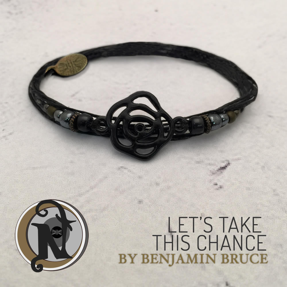 Let's Take This Chance Bracelet By Ben Bruce