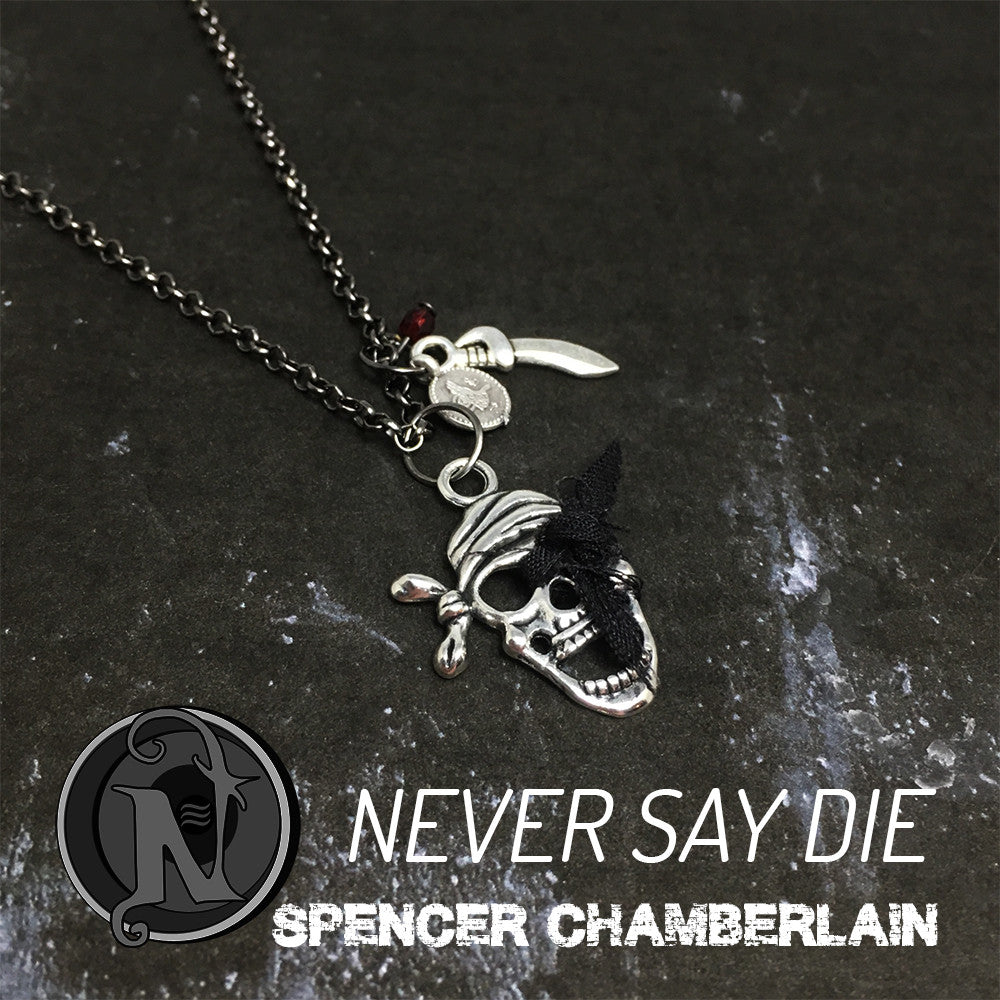 Never Say Die NTIO Necklace By Spencer Chamberlain