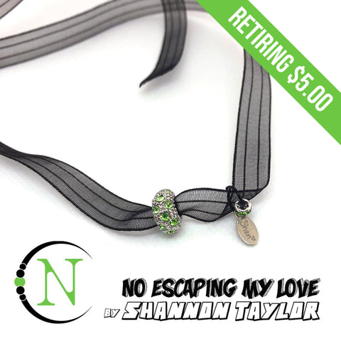 No Escaping My Love Necklace/Choker/Bracelet by Shannon Taylor - RETIRING