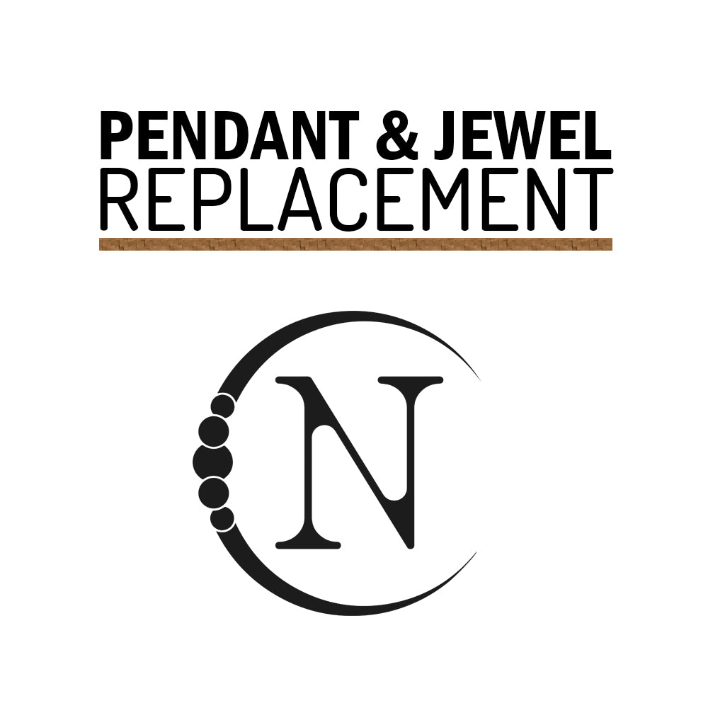 Pendant / Jewel Replacement Charge $5, $10 or $15