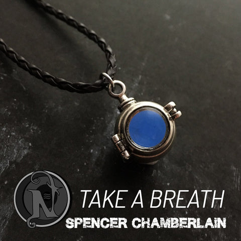 Take a Breath NTIO Glow in the Dark Necklace By Spencer Chamberlain