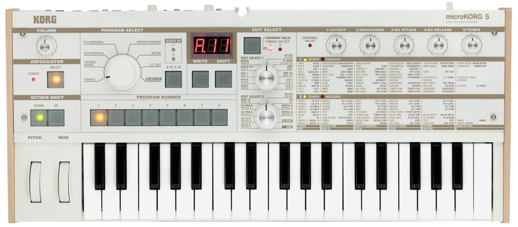 Korg MicroKORG S   Synthesizer/Vocoder - Synthbox