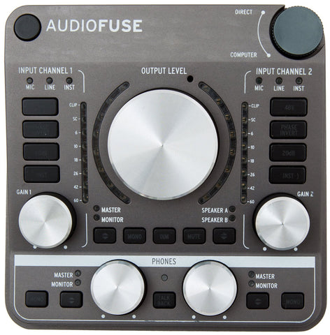 Arturia AudioFuse - Space Grey Audio Interface (interfaz de audio usb)