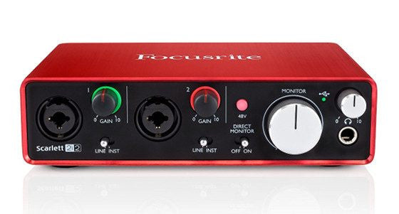 Focusrite Scarlett 2i2 2nd Generation interface de audio usb - Synthbox - 1