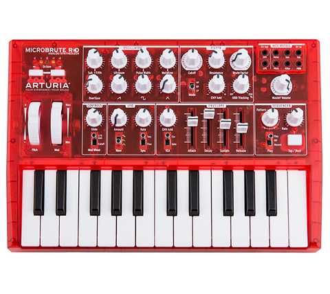 Arturia Microbrute RED LIMITED EDITION sintetizador analógico - Synthbox - 1