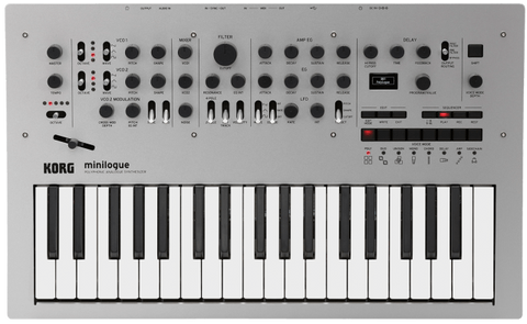Korg Minilogue Polyphonic Analog Synthesizer - Synthbox - 1