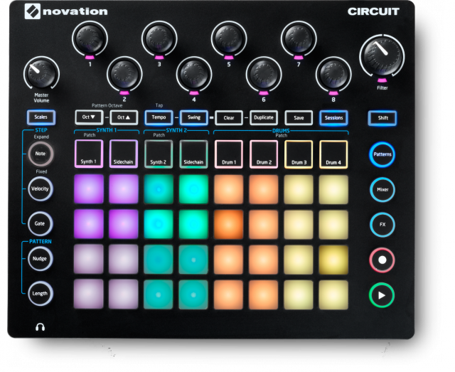 Novation Circuit Groovebox with Sample Import - Synthbox - 1