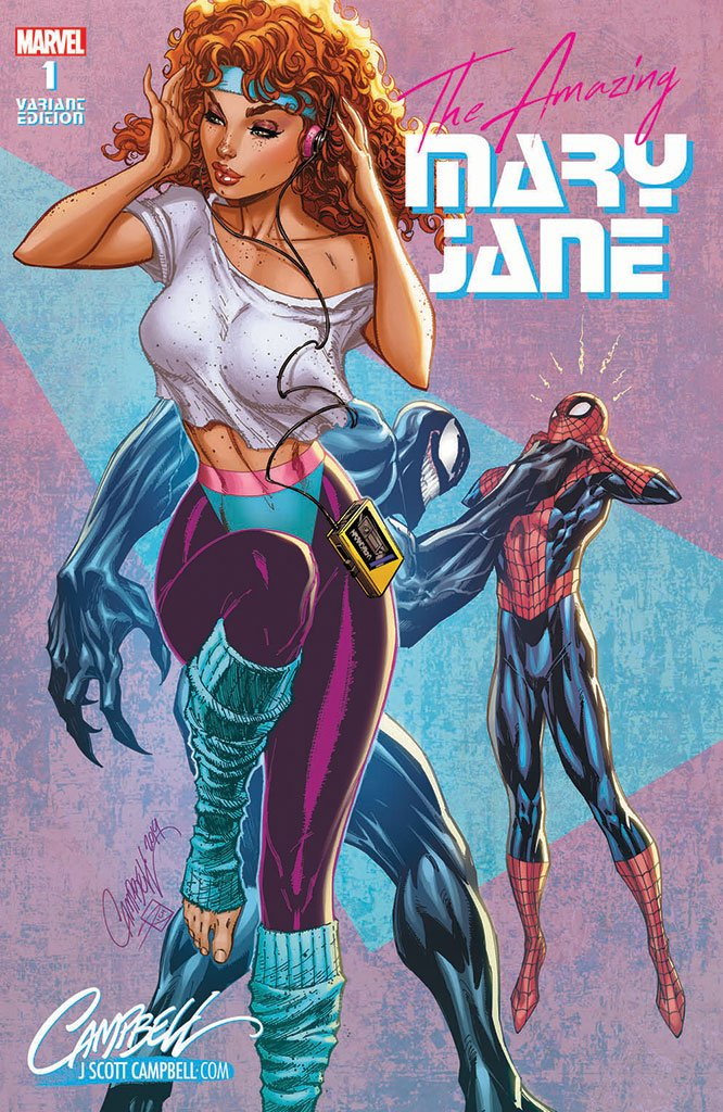 Original Art: Amazing Mary Jane #1 JSC EXCLUSIVE cover C - SOLD