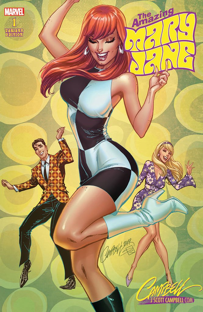 Original Art: Amazing Mary Jane #1 JSC EXCLUSIVE cover E - SOLD