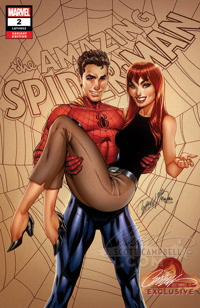 Amazing Spider-Man #2 J. Scott Campbell EXCLUSIVE