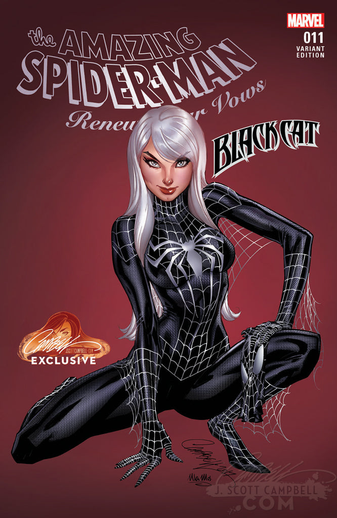 Amazing Spider-Man: Renew Your Vows #11 J. Scott Campbell EXCLUSIVE (SINGLES)