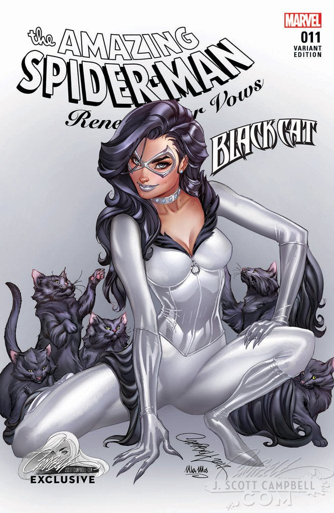 Amazing Spider-Man: Renew Your Vows #11 J. Scott Campbell EXCLUSIVE