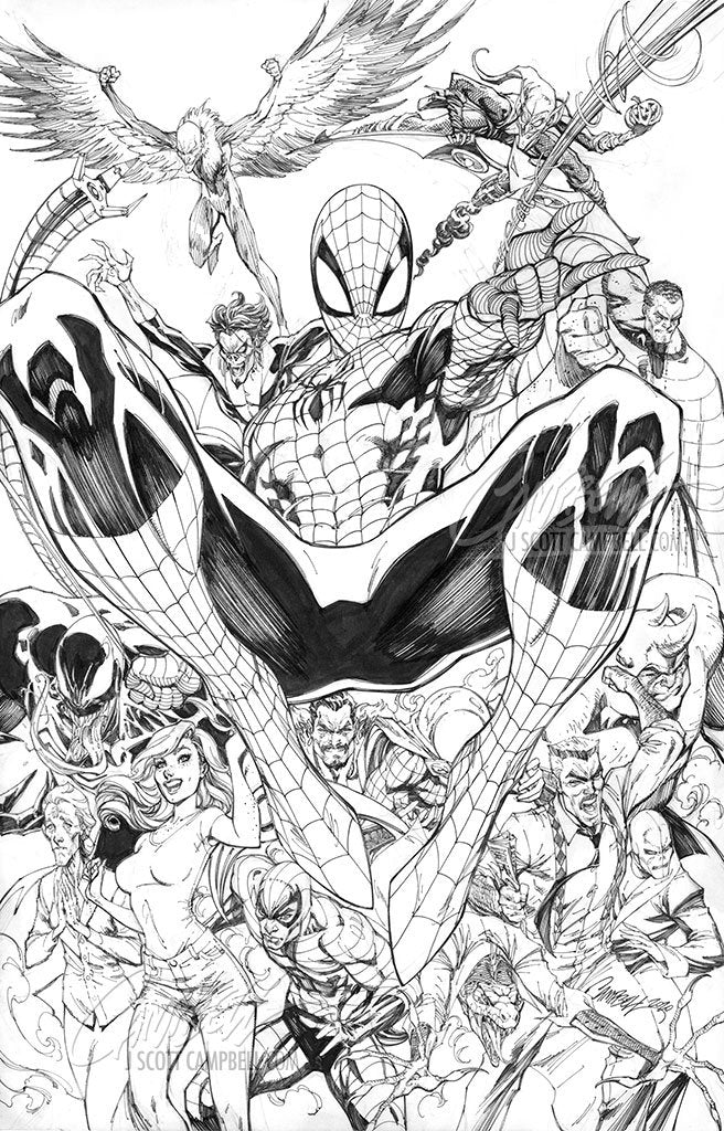 Original Art: Amazing Spider-Man #49 / #850 - SOLD