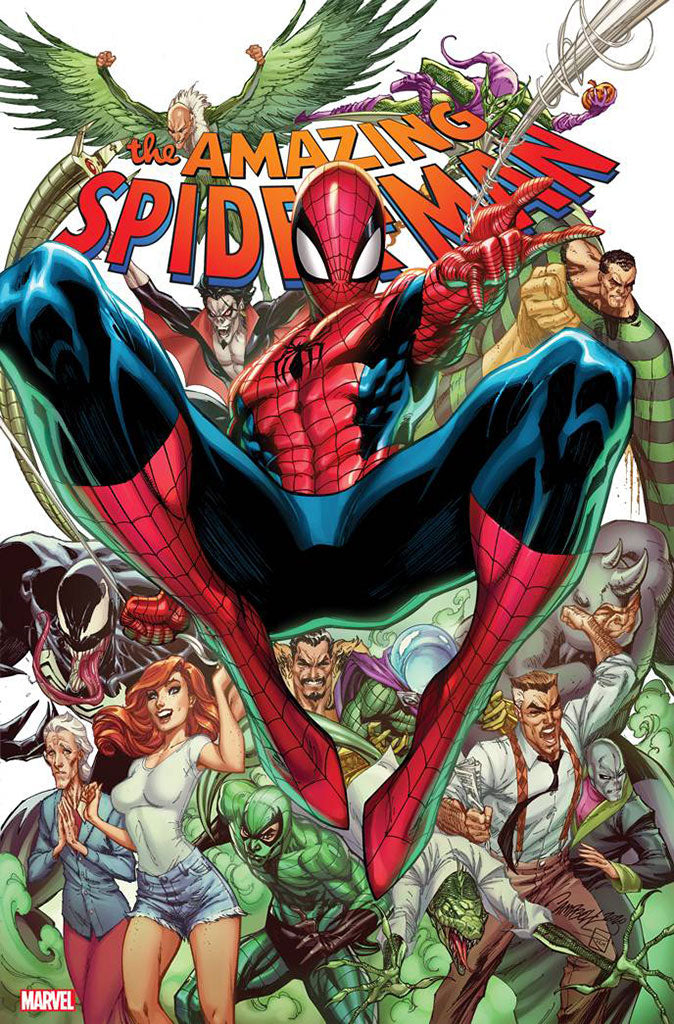 Amazing Spider-Man #49 / #850 J. Scott Campbell