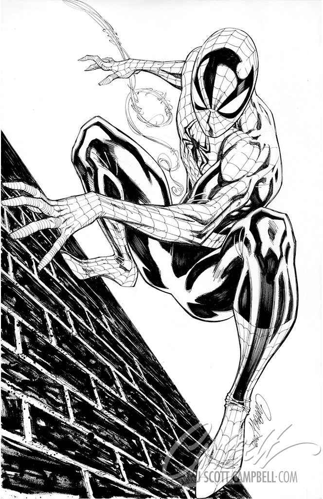Original Art: ASM #800 JSC EXCLUSIVE Cover A 'Spider-Man' - SOLD