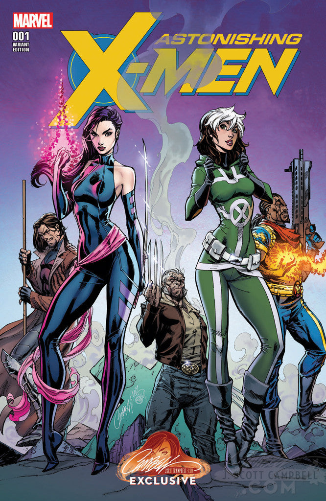 Astonishing X-Men #1 J. Scott Campbell Store EXCLUSIVE Cover