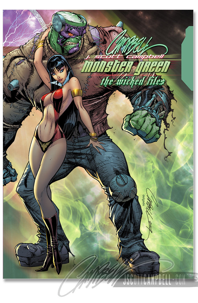 JSC Monster GREEN Hardcover