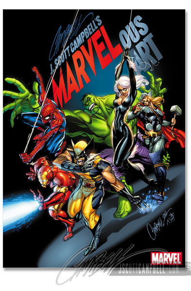 MARVELous Art Hardcover