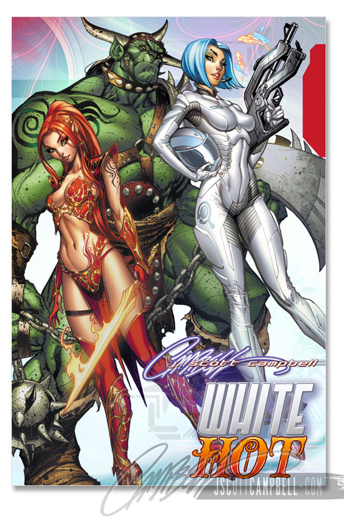 JSC WHITE Hot Hardcover