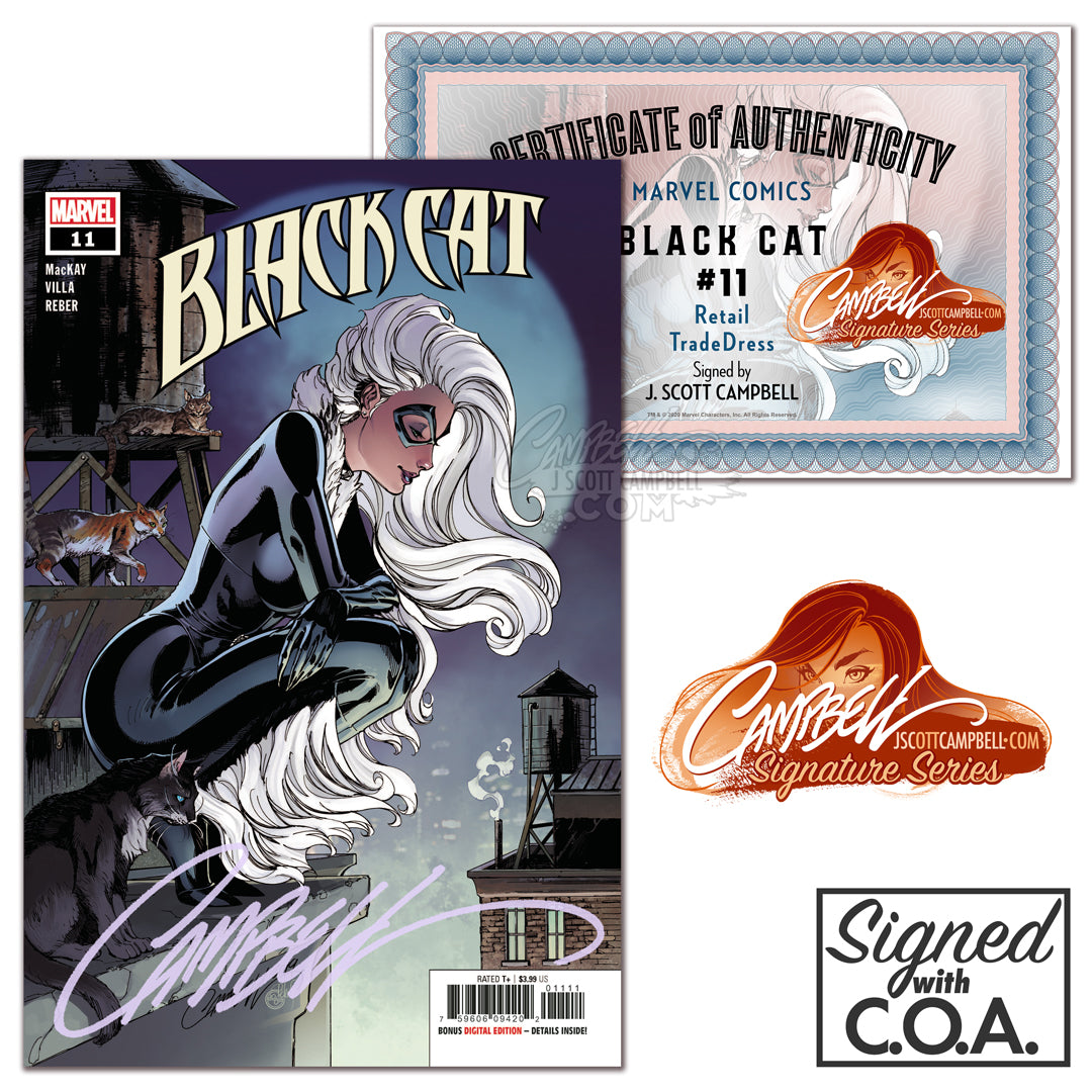 Black Cat #11 J. Scott Campbell