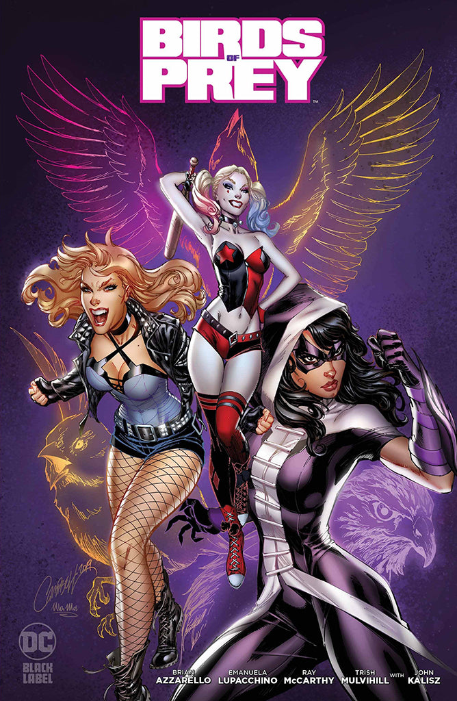 Birds of Prey #1 J. Scott Campbell
