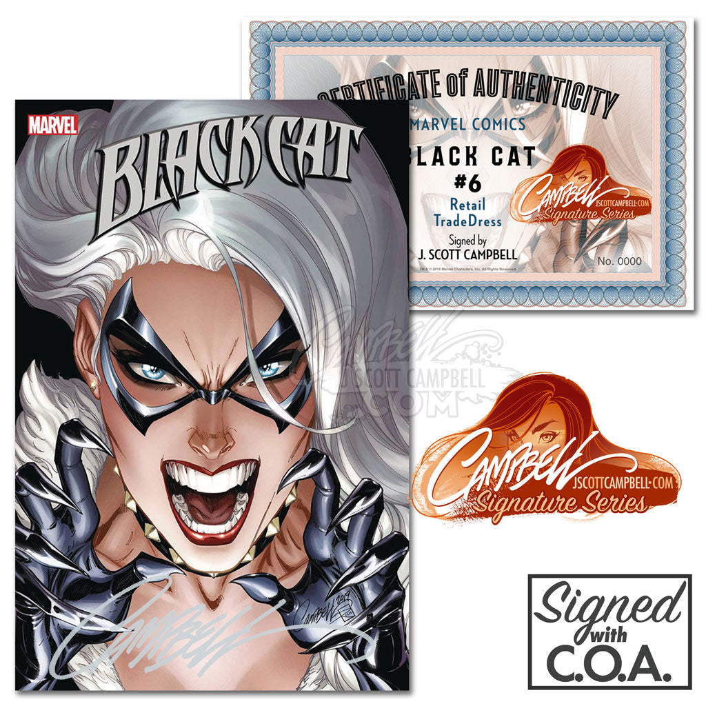 Black Cat #6 J. Scott Campbell