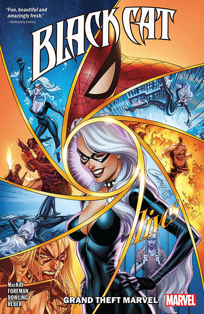 "J. Scott Campbell Black Cat vol 1 ""Grand Theft Marvel"" (TPB)"